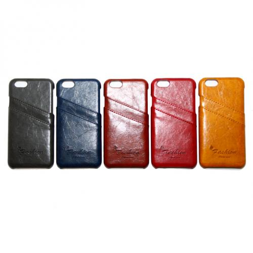 iP6 leather card case